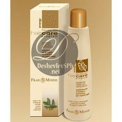 Frais Monde Spa Hair Care Шампунь против выпадения волос с экстрактами монгонго, сои и содержанием биоактивного кремния подходит для ломких волос
