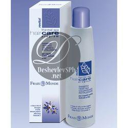 Frais Monde Spa Hair Care Укрепляющий шампунь с экстрактами масел огуречной травы, каритэ, протеинами сои для объема тонких, ослабленных волос