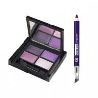 Pupa Набор для глаз smoky eyes kit Фиолетовый